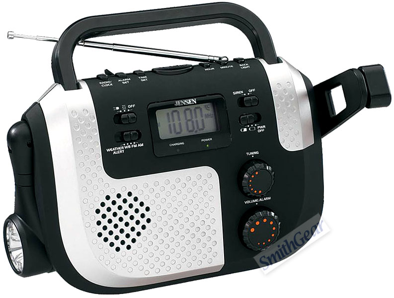 Jensen weather radio